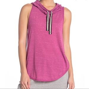 Free People Hooded Tank Top